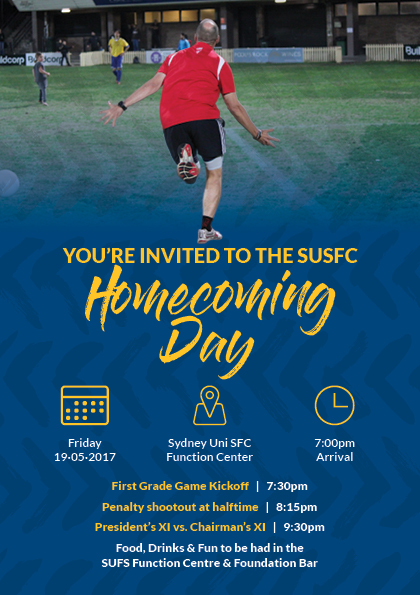 SUSFC HOMECOMING DAY – THIS FRIDAY